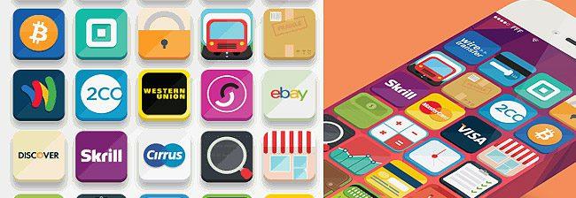33 Iconos para el diseño de Tiendas Virtuales